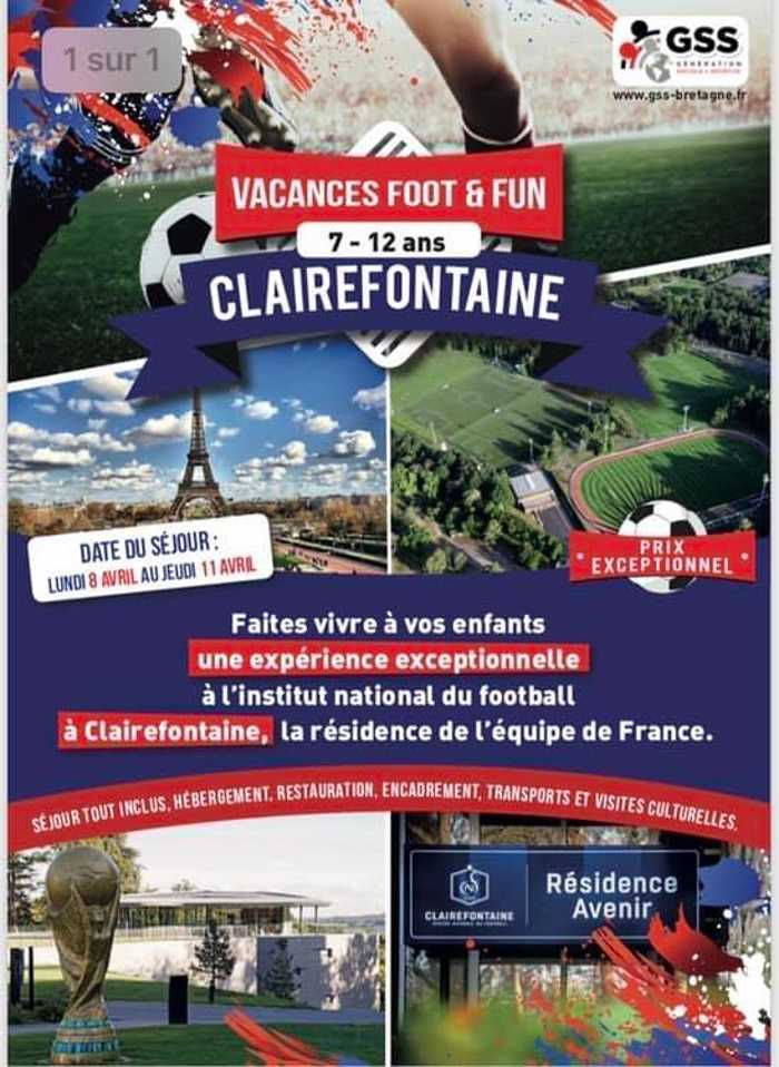 Vacances Foot & Fun by GSS  0